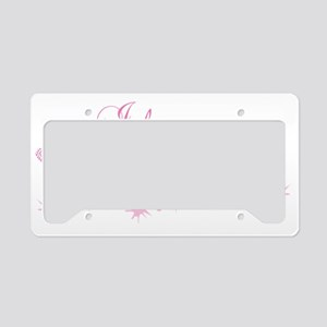 Love_Pageant_grandma License Plate Holder