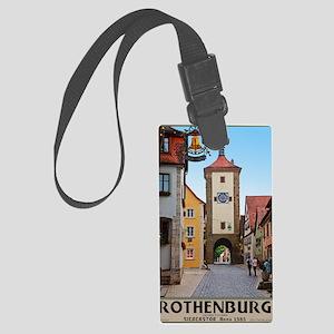 Rothenburg od Tauber - Siebersto Large Luggage Tag