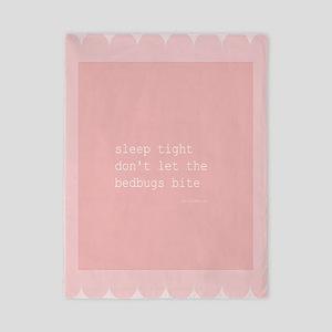 Bedbug Pink Twin Duvet