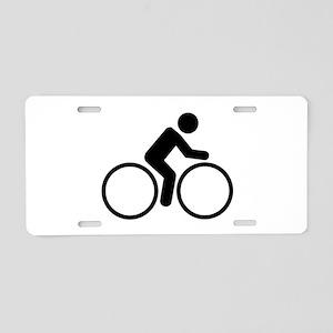 Cycling bike Aluminum License Plate