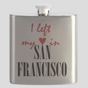 SF_10x10_apparel_LeftHeart_BlackRed Flask
