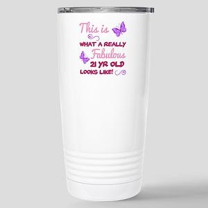 Fabulous 21st Birthday Mugs