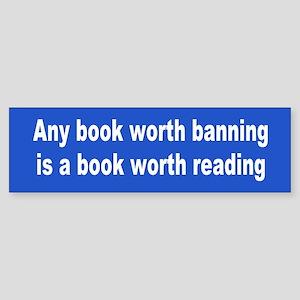 books... Bumper Sticker