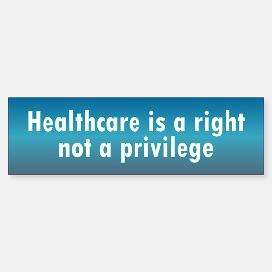 healthcare a right