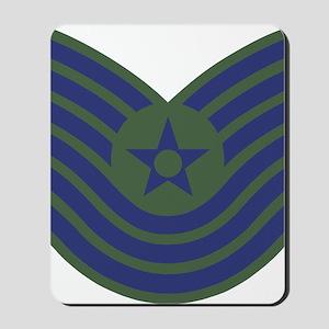 USAF-MSgt-Old-Green Mousepad