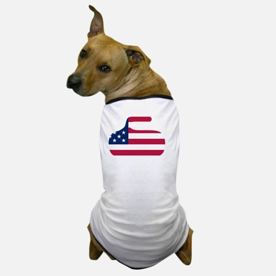 curlingWen Dog T-Shirt