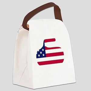 curlingWen Canvas Lunch Bag