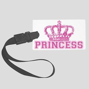Crown_princess Large Luggage Tag