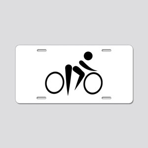 Bicycle Cycling Aluminum License Plate