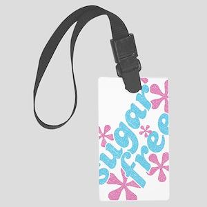 Sugar Free Journal Large Luggage Tag