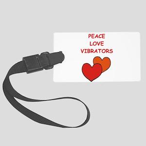 vibrator Luggage Tag