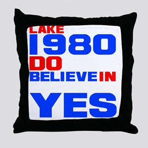 miracle on ice-d Throw Pillow