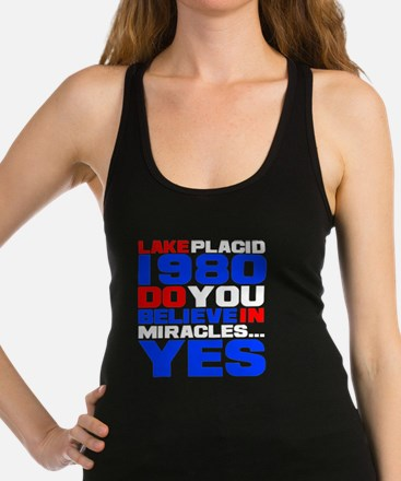 miracle on ice-d Racerback Tank Top