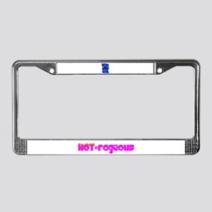 HOT-rageous License Plate Frame