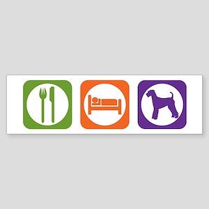 Eat Sleep Airedale Bumper Sticker