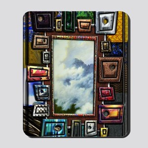 Shape and texture Large Framed Print 14  Mousepad