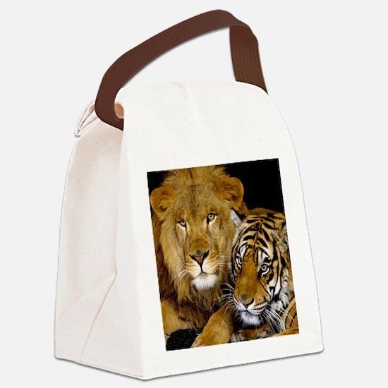 MEOWWW Canvas Lunch Bag