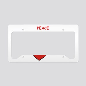 nipple clamps License Plate Holder
