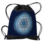 Metatrons Cube Drawstring Bag