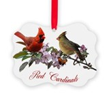Cardinal Picture Frame Ornaments