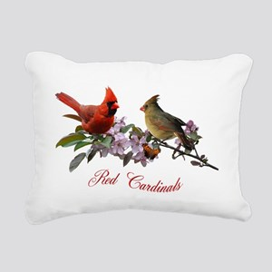 12 X T cardinals 200 dpi Rectangular Canvas Pillow