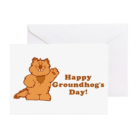 Groundhog's Day! Greeting Cards (Pk of 10)