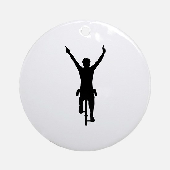 Cyclist winner Ornament (Round)