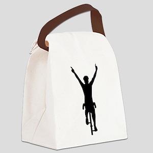 Cyclist winner Canvas Lunch Bag