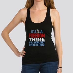 Freedom Thing Racerback Tank Top