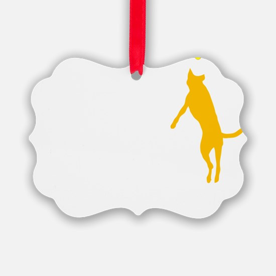 Tri Nation Leaping Three Legged D Ornament