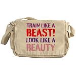 Train like a beast look like a beauty Messenger Ba