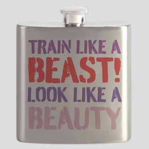 Train like a beast look like a beauty Flask