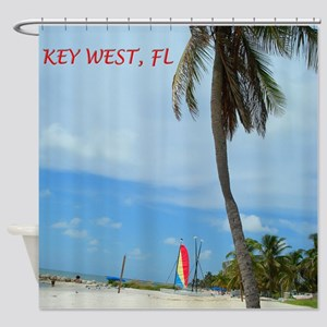 key west Shower Curtain