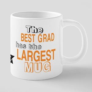 BEST Grad Orange Mugs