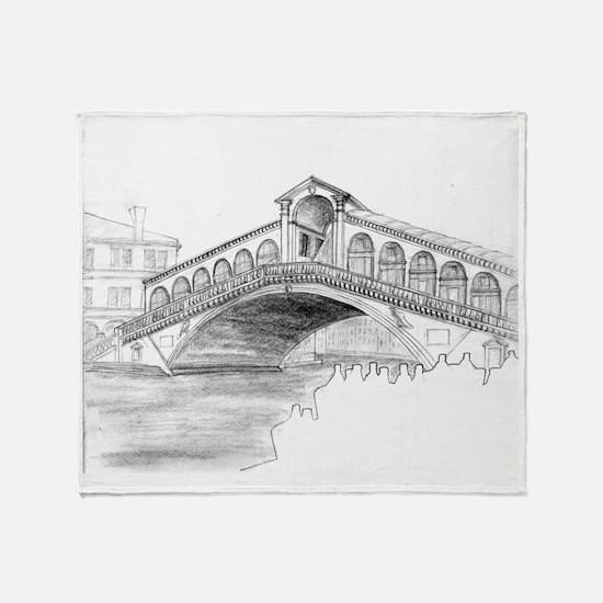 18 Ponte Rialto Throw Blanket