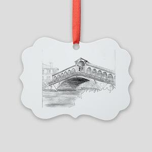 18 Ponte Rialto Picture Ornament