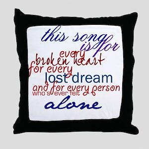 alblspeech Throw Pillow