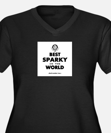 The Best in the World – Sparky Plus Size T-Shirt