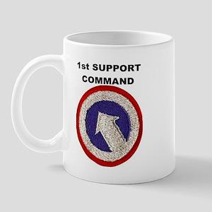 1st Support Command Mug