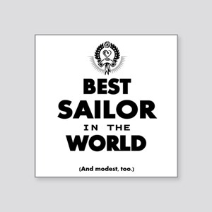 The Best in the World – Sailor Sticker