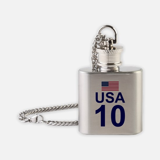 usa10.gif Flask Necklace