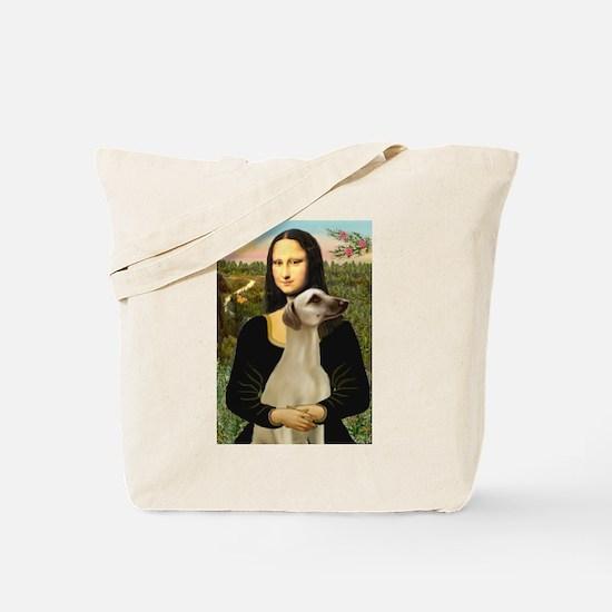 Mona Lisa's Sloughi Tote Bag