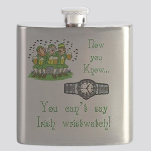T_Irish wristwatchwhite Flask