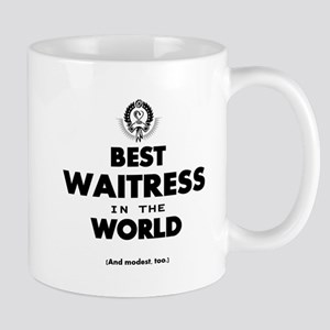 The Best in the World – Waitress Mugs
