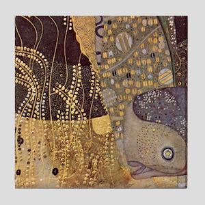 Gustav Klimt Art Tile Set Watersnakes - P3of3