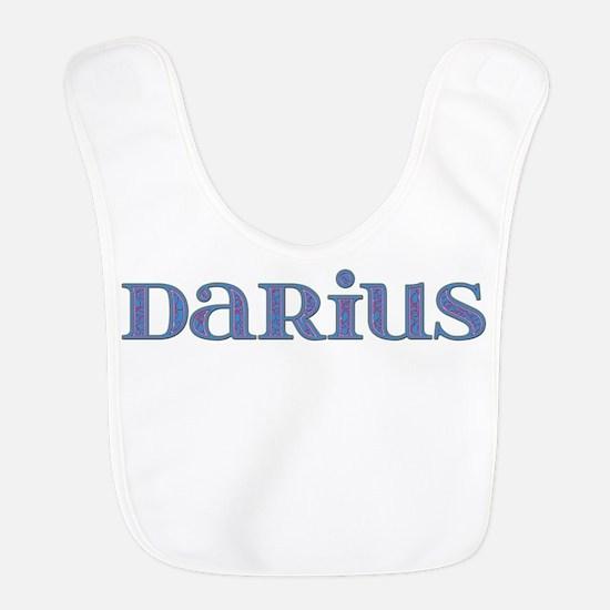 Darius Blue Glass Bib