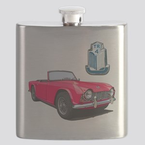 TR4red-10 Flask