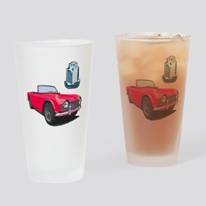 TR4red-10 Drinking Glass