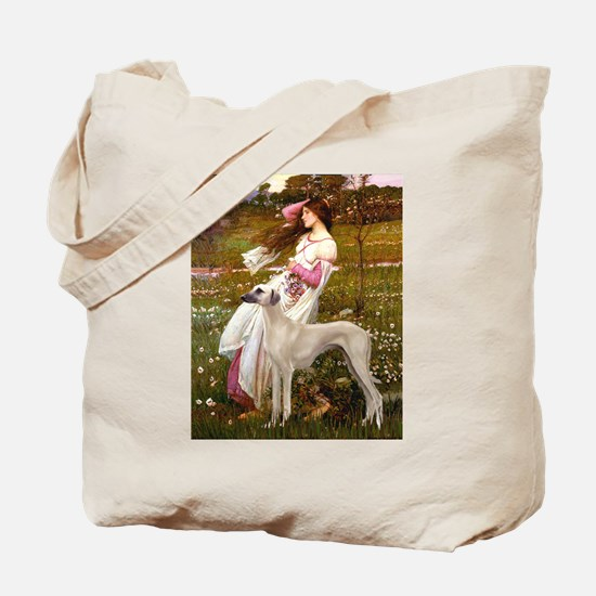 Wind Flowers & Sloughi Tote Bag