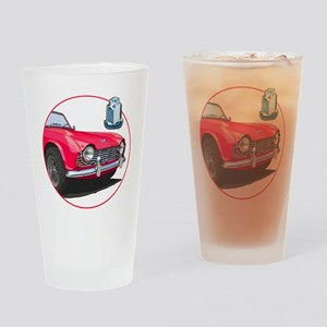 TR4red-C8trans Drinking Glass